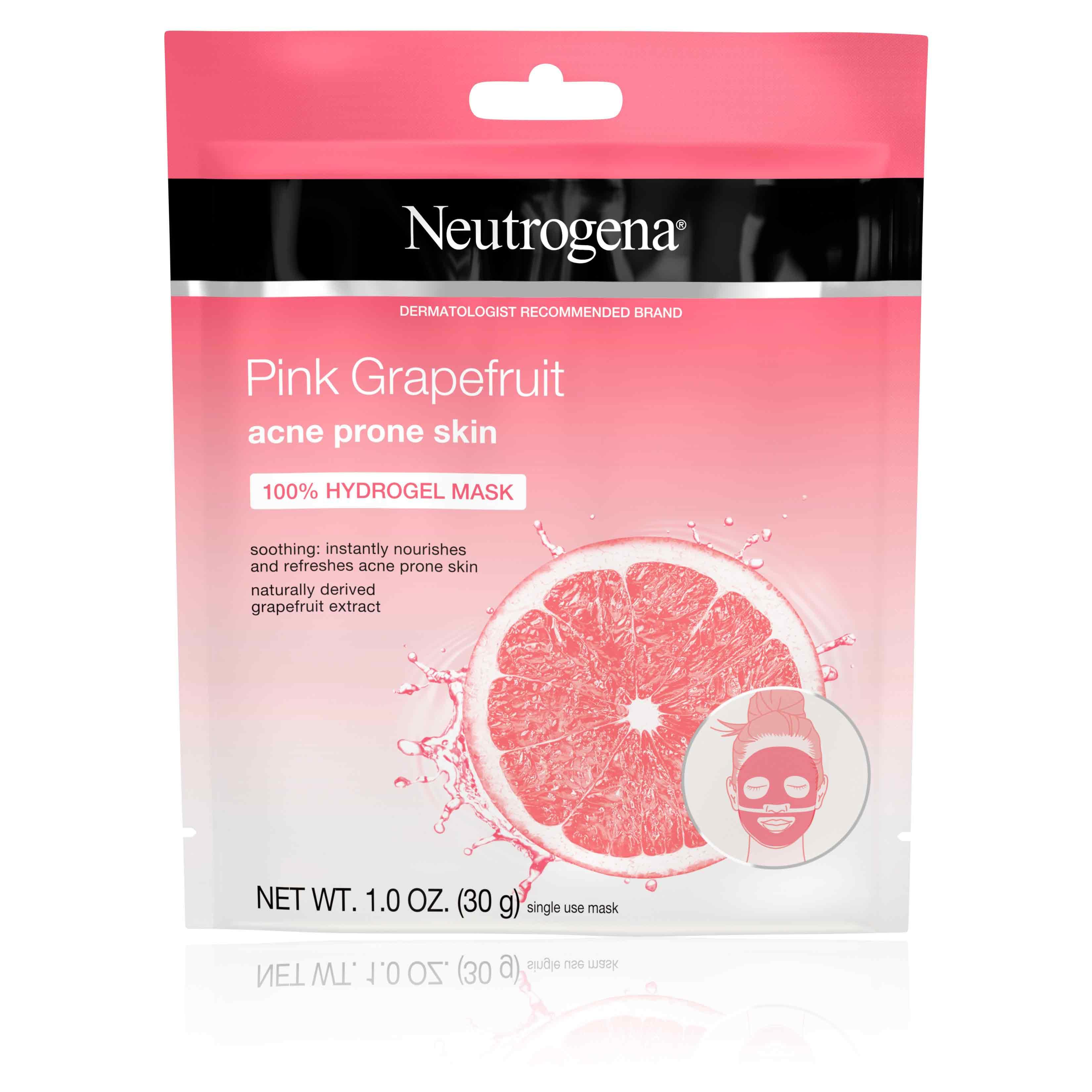 Neutrogena® Pink Grapefruit Acne Prone Skin 100% Hydrogel Mask