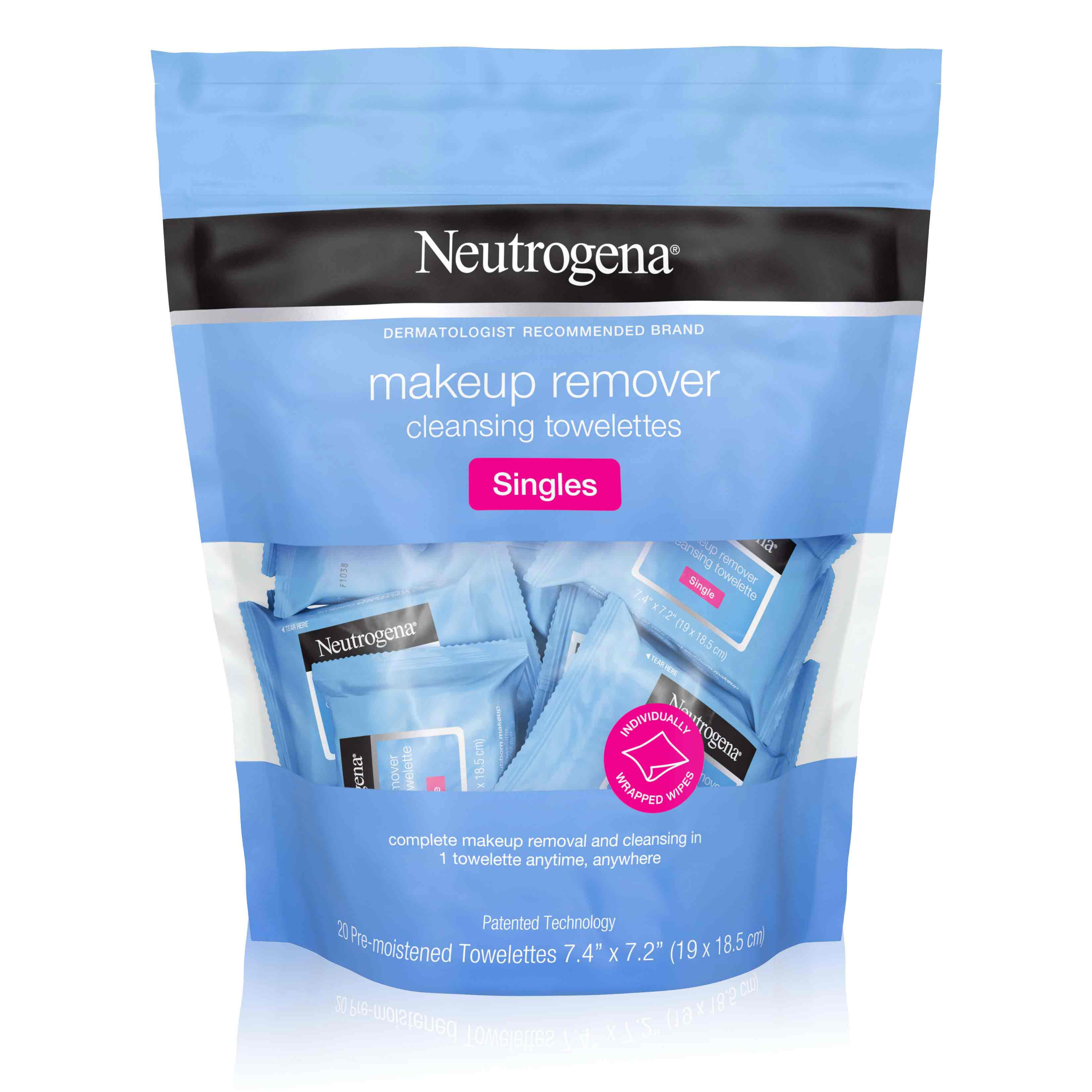 Neutrogena® Makeup Remover Cleansing Towelettes Singles
