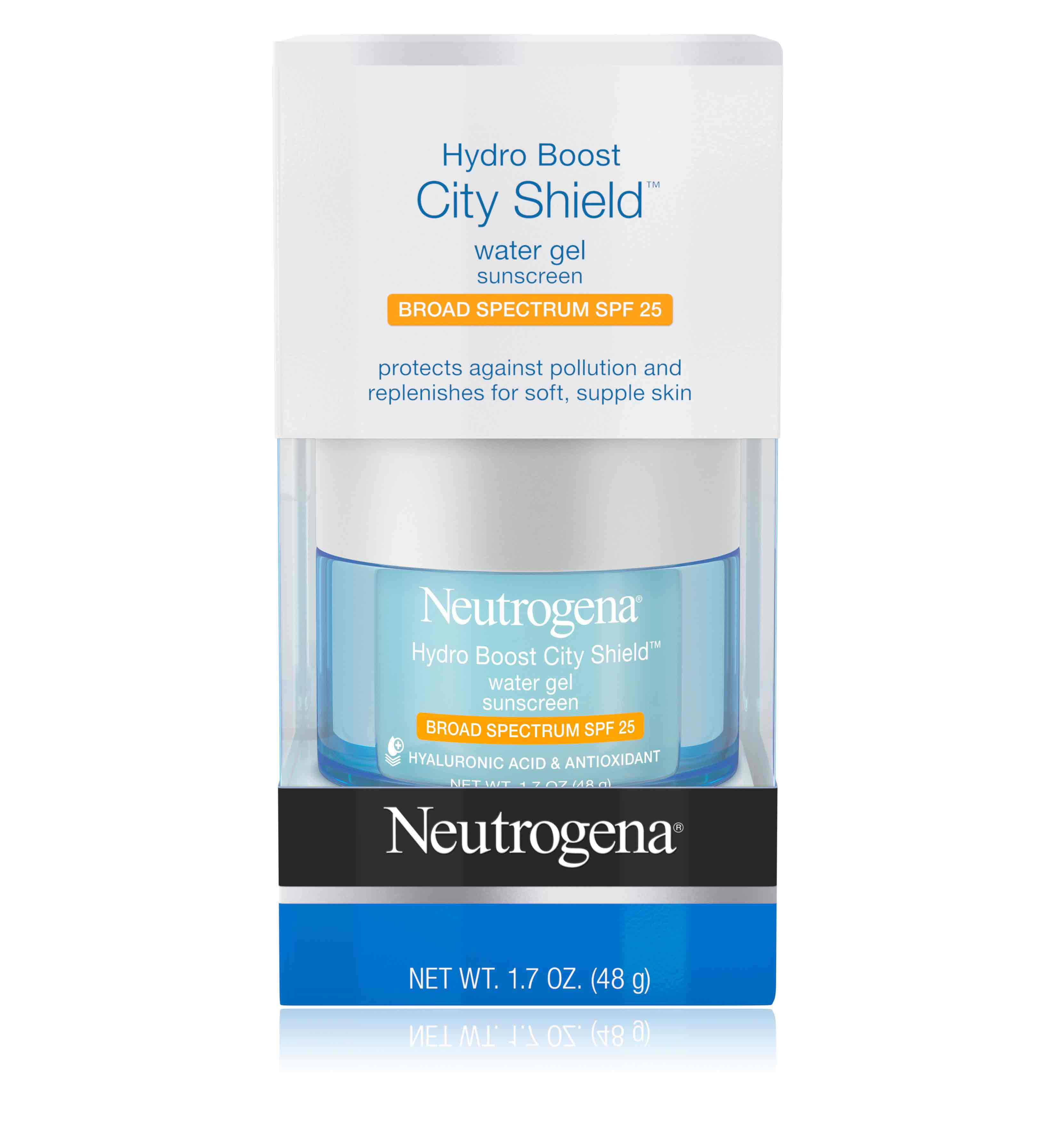 Neutrogena® Hydro Boost City ShieldTM Water Gel Sunscreen Broad Spectrum SPF 25